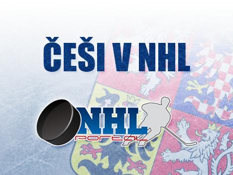 Češi v NHL