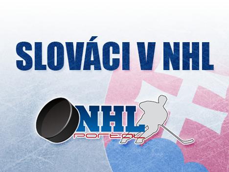 Slováci v NHL