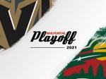 NHL Playoff 2021 - 1st round - VGK-MIN