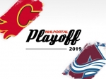 Playoff 2019 - CGY-COL